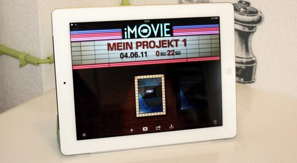 iPad 2 Review – Teil 2 / iMovie, GarageBand, Games auf dem iPad 2