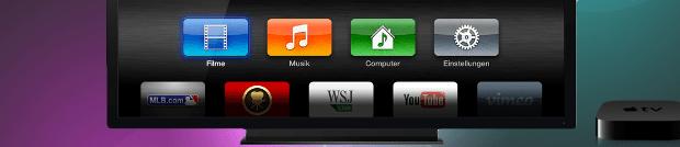 Apple aktualisiert Apple TV Software