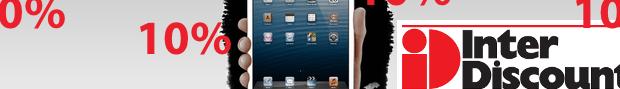 Morgen bei Interdiscount: 10 Prozent auf iPads und…
