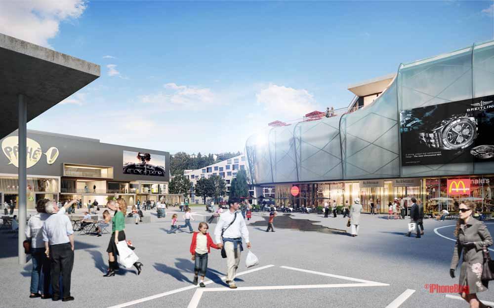 Er ffnet apple 2017 einen store in der mall of switzerland for M park geneve
