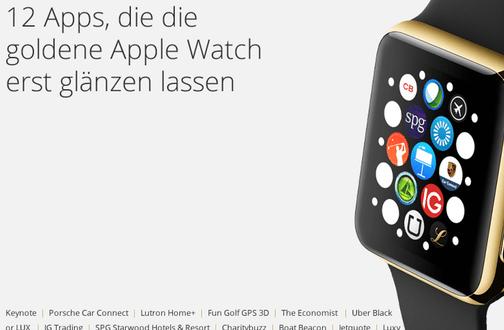 12 Apps für die Apple Watch Edition
