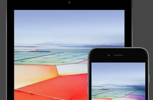 Neue iPhone SE und iPad Pro Wallpaper