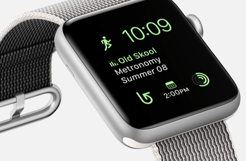Apple Watch Series 2: Wasserdicht bis 50 Meter, GPS, doppelt so helles Display, Dual-Core Prozessor & watchOS 3