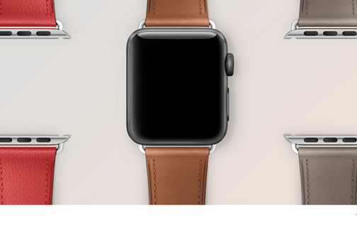 Apple Watch: mehr Armbänder aber weniger vorkonfigurierte Modelle