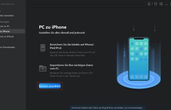 Daten übertragen iPhone