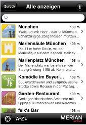 Merian Scout für München und Umgebung