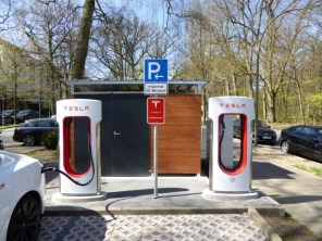 Supercharger Hamburg Tesla