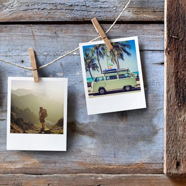 Sofortbilder als Urlaubserinnerungen