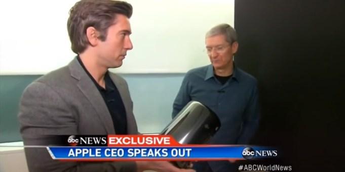 Tim Cook im ABC-Interview