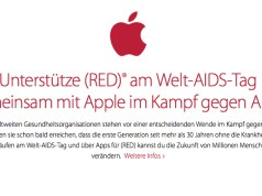 Apple Black Friday ist rot