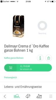 codecheck kaffee
