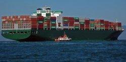 Container-Schiff