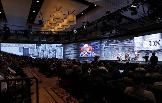 Die führenden Manager der Technologie-Branche sprechen auf der D 10 in Kalifornien