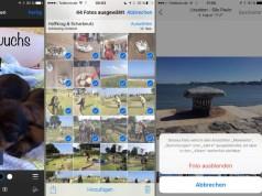iOS 9 Foto Alben Ordner Bearbeiten