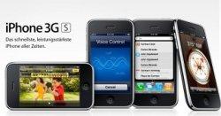 Apple startet ab dem 19. Juni 2009 mit dem iPhone 3G S auch in Deutschland © Apple