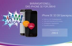 Unitymedia mit iPhone SE Angebot