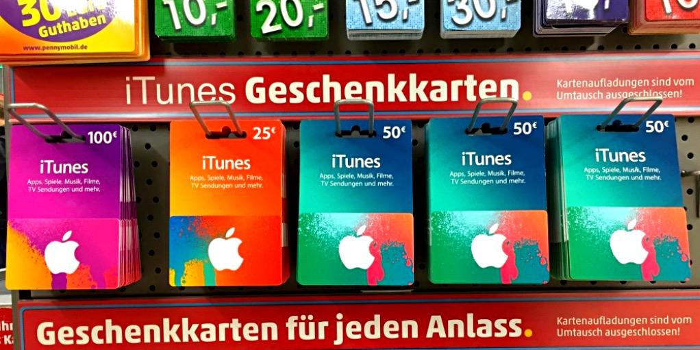 Itunes Guthabenkarten Mit Rabatt Kaufen Iphone Fan De