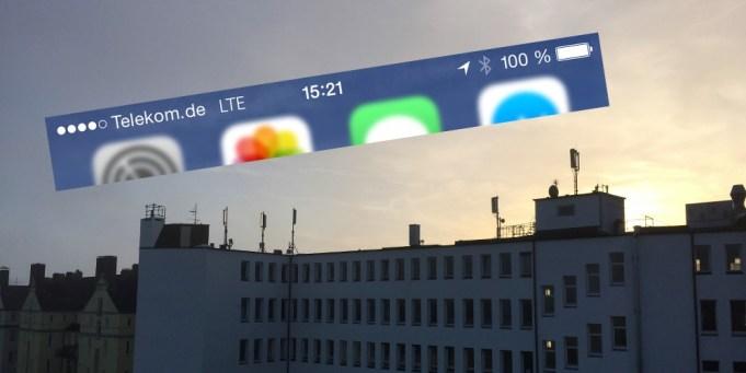 LTE Mobilfunk iPhone 6