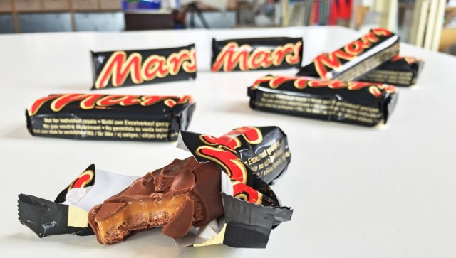 Schokoriegel Rückruf Mars