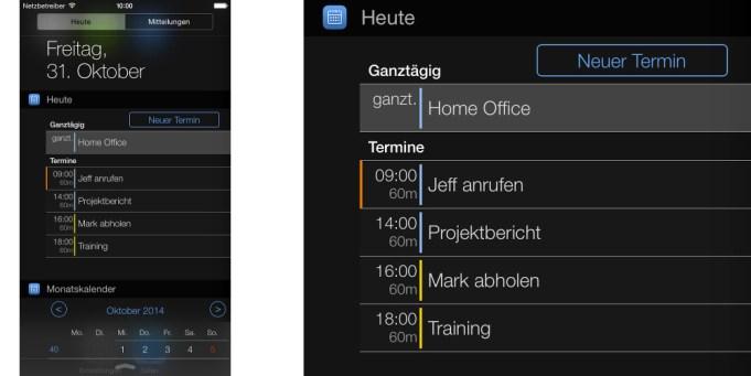 Kalender App miCal