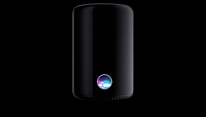 So könnte der Siri-Lautsprecher von Apple eventuell ausehen