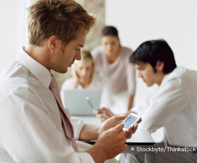 Projektsteuerung auf dem Smartphone © Stockbyte/Thinkstock