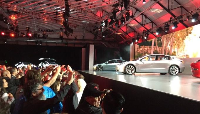 Tesla Model 3 Präsentation in Los Angeles