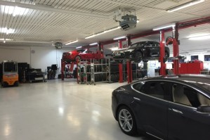 Tesla Service Center Feldkirchen