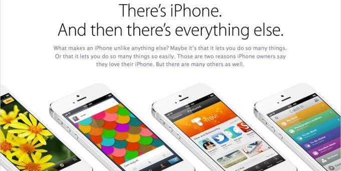 Apple schießt gegen die Konkurrenz