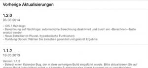 """Alten Kram meiden: """"Vorherige Aktualisierungen"""" verrät, wie oft es Updates gibt."""