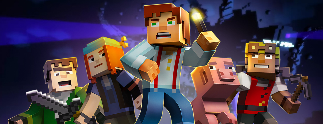 Minecraft Story Mode IPhoneMAGAZIN - Minecraft hauser grob
