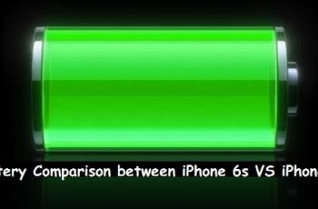 Battery Comparison between iPhone 6s vs iPhone 7