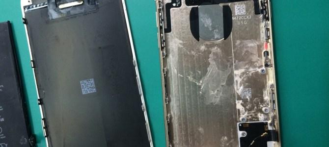 アイフォン修理報告【27/08/05】 海での水没注意!