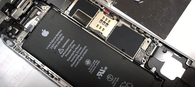 iPhone6水没修復 札幌市清田区より「トイレに落として・・・」