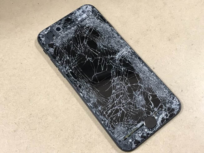 iPhone7フロントパネル交換前2.0112