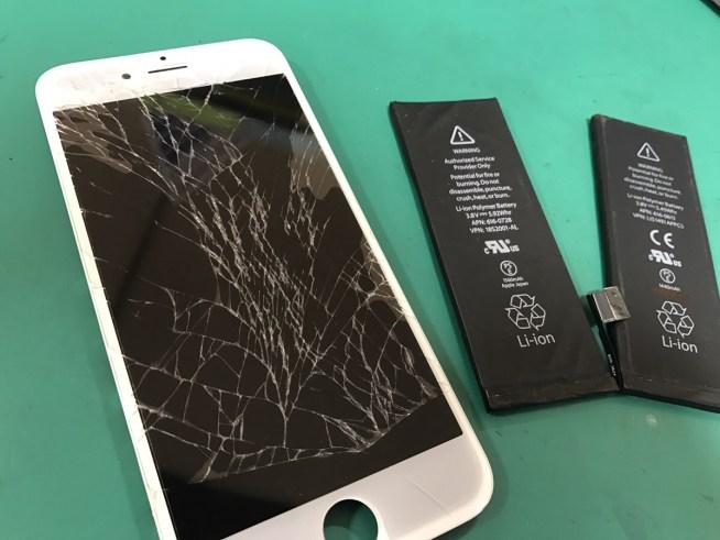 iPhone6フロントパネル・バッテリー修理.0131