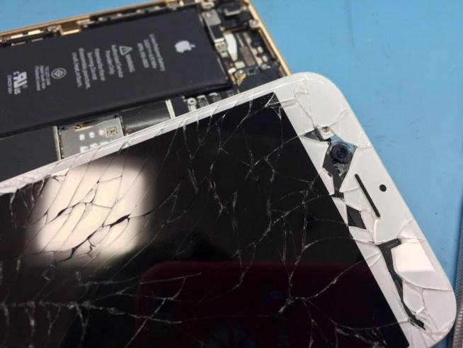 iPhoneフロントパネル交換2.0509