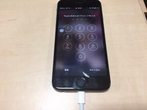 iPhone6水没電源ON1124