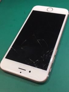 iphone6s画面交換修理前.1226