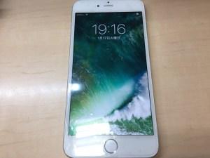 iPhone6+液晶修理後0117