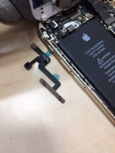 iPhone6音量ボタン中0120