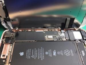 iPhone7ガラス割れ中0122