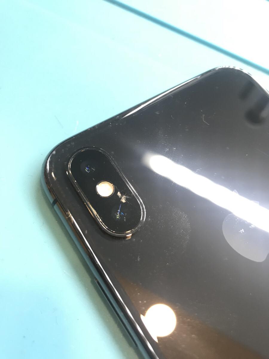 iPhoneXカメラレンズ