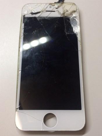 iPhone5s修理前29/01/03