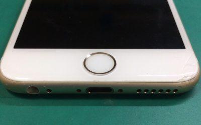 アイフォンのホームボタン修理