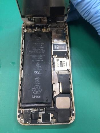 iPhone5s修理前29/02/06