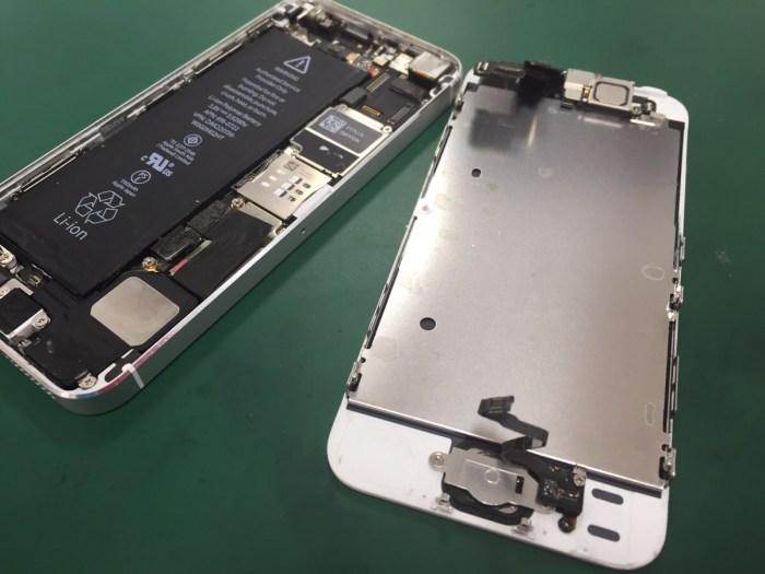 iPhone5sホームボタン修理2.0415