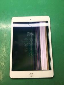 iPadmini4液晶交換1