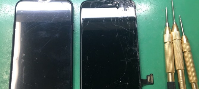 iPhone画面割れ( ;´Д`)タッチが効かない・・・iPhone修理専門店アイフォンクリア札幌伏古ブログ2018/3/16