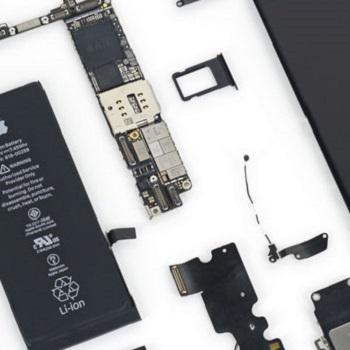 アイフォンのスモールパーツ交換修理